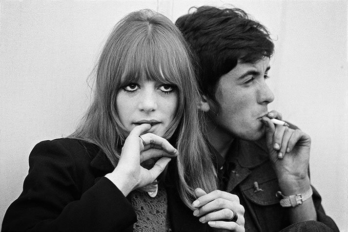 GB. England. Teenagers at a Jazz Festival. 1964.