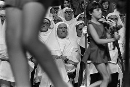 GB. Wales. Druids at the National Eisteddfod in Carmarthen. 1974.