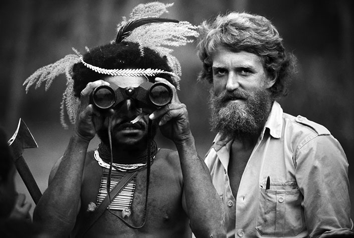 PAPUA NEW GUINEA.. A warrior is given the opportunity to see farther than ever before. His world is about to change forever. 1973