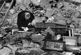 Belice earthquake took place between 14-15 January 1968. Measuring 6.4 on the Richter Scale, the quake, centered between the towns of Gibellina, Salaparuta and Poggioreale, killed c. 380 people, with c. 1000 injured and left 70,000 homeless. It is known in Italy as Terremoto del Belice .