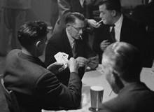 G.B. WALES. Working men's club, Rhondda Valley. 1957.