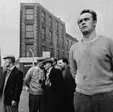 G.B. ENGLAND. London. Street scene, North London. 1958.