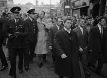 G.B. ENGLAND. London. Fascist leader Oswald Mosley, London. 1960.