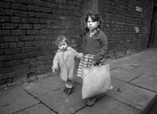 GB. England. Liverpool children. 1961.