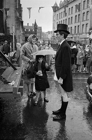 GB. England. Cambridge Poppy Day parade. 1961.