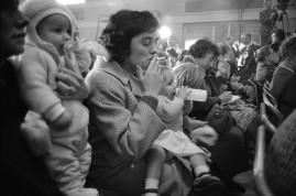 LondonPolitical meeting, North London. 1962.