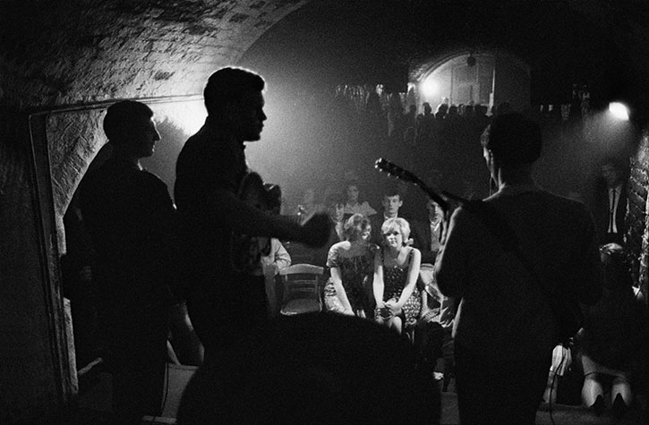 The Cavern Club.  Liverpool. England. 1963.