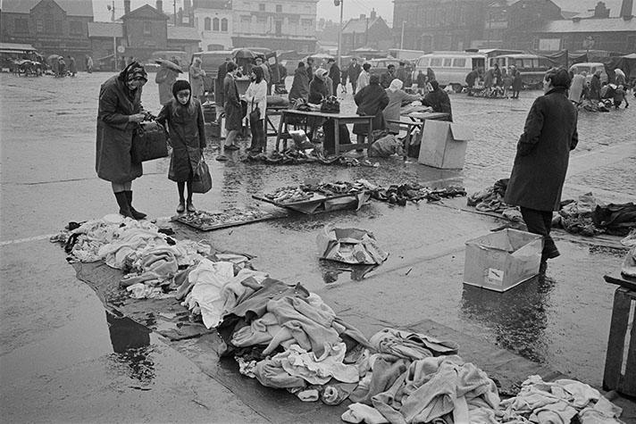 G.B. ENGLAND. Liverpool. Paddys Market. 1966.