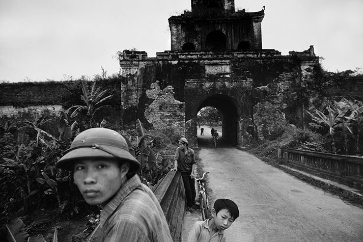 VIET NAM. Hue. The Citadel in Hue was the scene of the most prolonged fighting during the Tet Offensive.