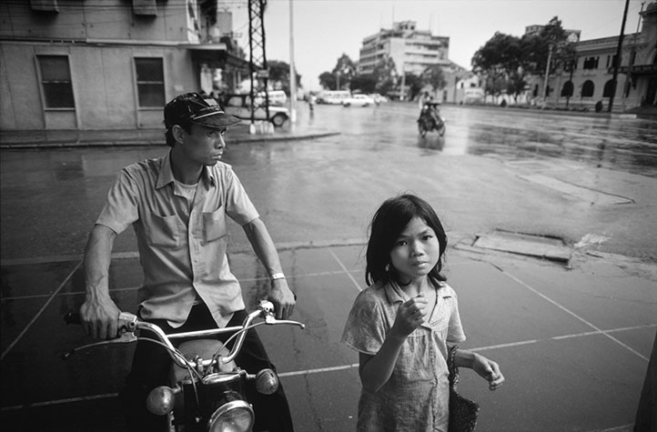 VIET NAM. Ho Chi Minh City. One of the main streets, Le Loi, in downtown HCM City almost devoid of traffic in 1980. In later years the city had major traffic congestion.