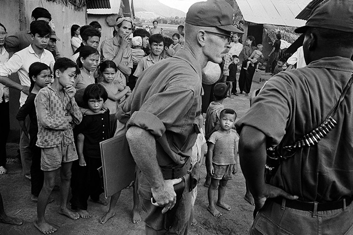 VIETNAM. South Vietnam. Quin Hon. 1967