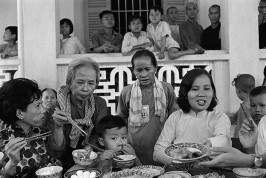 VIETNAM. Buddhist Pagoda near Saigon. 1967