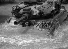 CAMBODIA. Effects of Monsoon on U.S. Troops. 1970