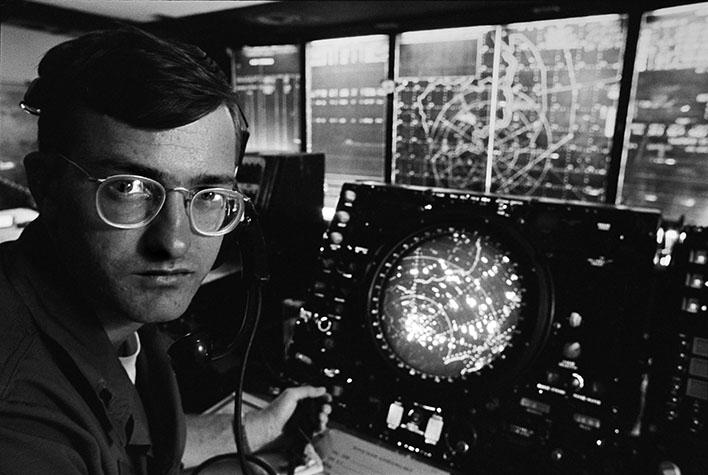 VIETNAM. Radar Control at Tan Son Nhut. 1970