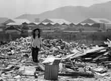 VIETNAM. South Vietnam. Danang. Outside the U.S. airbase, is the longest dump in Vietnam, perhaps the world. 1970