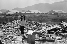 VIETNAM. South Vietnam. Danang. Outside the U.S. airbase, is the longest dump in Vietnam, perhaps the world. 1970