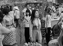 VIETNAM. Flower Market at Tet. 1971