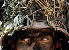 SOUTH KOREA. 1979. Soldiers Patrol DMZ.