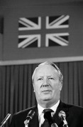 ENGLAND. 1974. Prime Minister Edward HEATH.