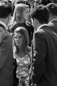 Sunday afternoon and the main business was ogling women. There was a certain desperation evident in this activity. 1963