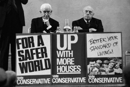 Before the Tory party put on a more acceptable face, these men gave a clearer testimony of the true character if their leaders. England. 1964