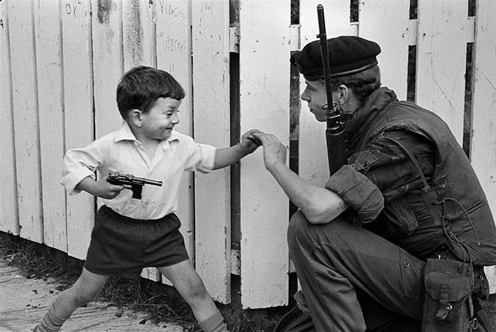 GB. NORTHERN IRELAND. The British occupation has denied many their childhood. 1973