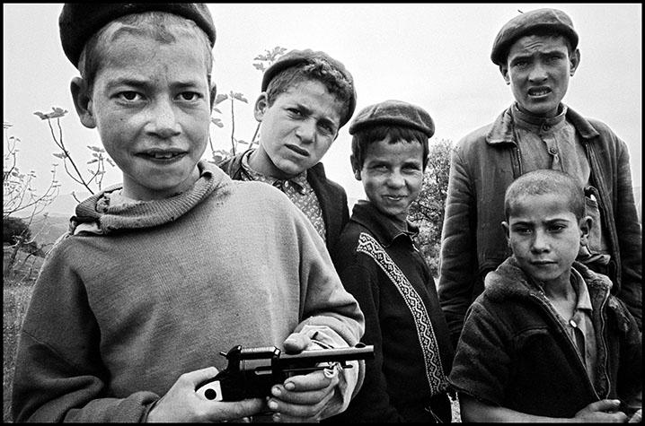 Children in the Kabylie region.