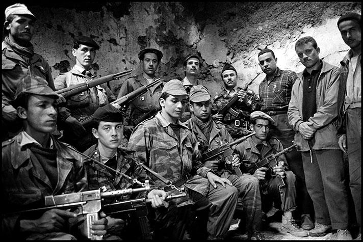 Platoon of FLN troops, Kabyli