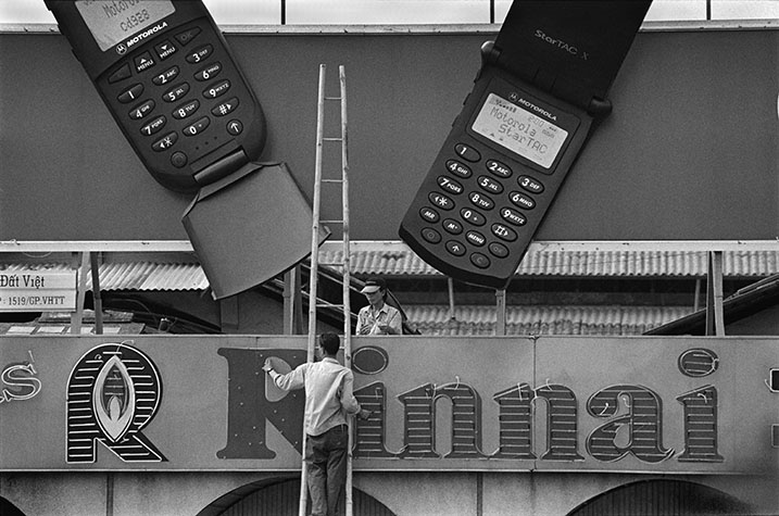 VIET NAM. After China, Viet Nam has the highest rate of moblie phone growth in the world. They are marketed as status symbols to a people that traditionally thinks of silence as a virtue.