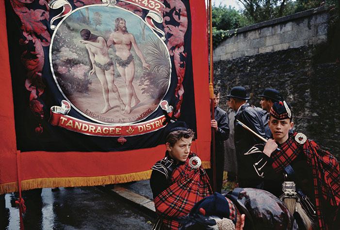 IRELAND. Drogheda. County Louth. 1965. Battle of the Boyne celebration.