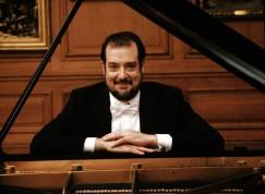 USA. 1999. American classical pianist Garrick OHLSSON.