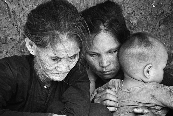 VIETNAM. Quang Ngai. Peasants. 1967