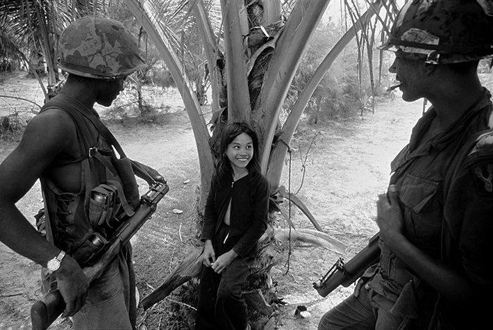 VIETNAM. South Vietnam. Village of Song Tra. The population were forced out and the village burnt to the ground. 1967.