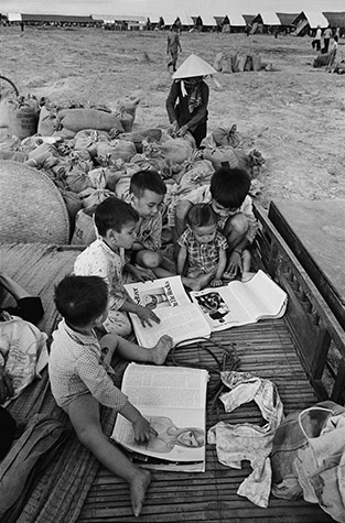 VIETNAM. Refugee camp. In this camp, the