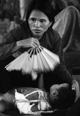 VIETNAM. The American policy of Annihilating as many Vietnamese as possible while claiming to be saving them from the