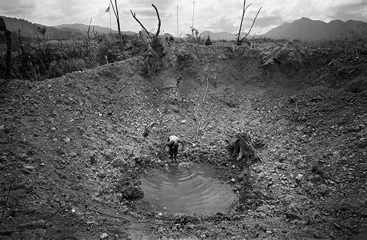 VIETNAM. This operation by the 1st Cavalry Division to cut the Ho Chi Minh trail failed like all the others but the U.S. military were shaken to find such sophisticate weapons stockpiled in the valley. Officers still talked of winning the war, of seeing