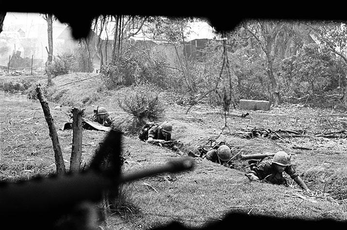 VIETNAM. The battle for Saigon. 1968